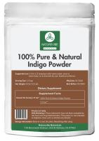 100% Pure & Natural Indigo Powder (1/2lb) by Naturevibe Botanicals (8 ounces) For Hair Color