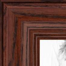 ArtToFrames 8x10 inch Cherry stain on Solid Red Oak Wood Picture Frame, WOM0066-59504-YCHY-8x10