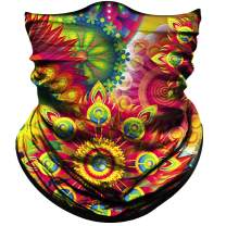 Obacle Seamless Bandana Rave Face Mask Women Men for Dust Wind Sun Protection