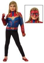 Imagine by Rubie's Child's Captain Marvel Dress-Up Set
