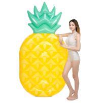 "JOYIN 84"" Giant Inflatable Pineapple Pool Float, Fun Beach Floaties, Swim Party Toys, Pool Island, Summer Pool Raft Lounge for Adults & Kids"