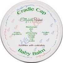 Organic Cradle Cap Baby Balm Dry Scalp Treatment With Manuka Honey - Calendula Oil - Beeswax - Infant Seborrheic Dermatitis - Baby Eczema Relief - Itch and Rash Cream - Paraben Free (2 oz)