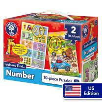 Orchard Toys Look and Find Number - Educational Learning Jigsaws - Perfect for Home Learning