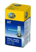 HELLA H7 Standard Halogen Bulb, 12 V, 55W