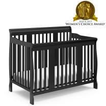 Storkcraft Tuscany 4-in-1 Convertible Crib Black
