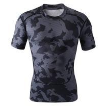 Willarde Men's Short Sleeve Compression T-Shirts