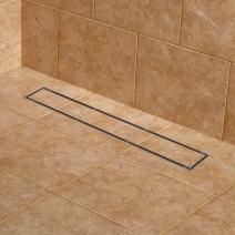 "Signature Hardware 404976 Cohen 36"" Tile Insert Linear Shower Drain with Flange"