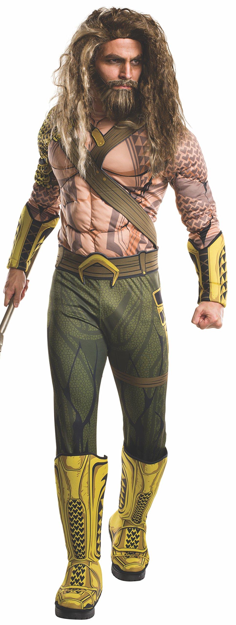 Adult Batman V Superman: Dawn of Justice- Deluxe Aquaman Costume