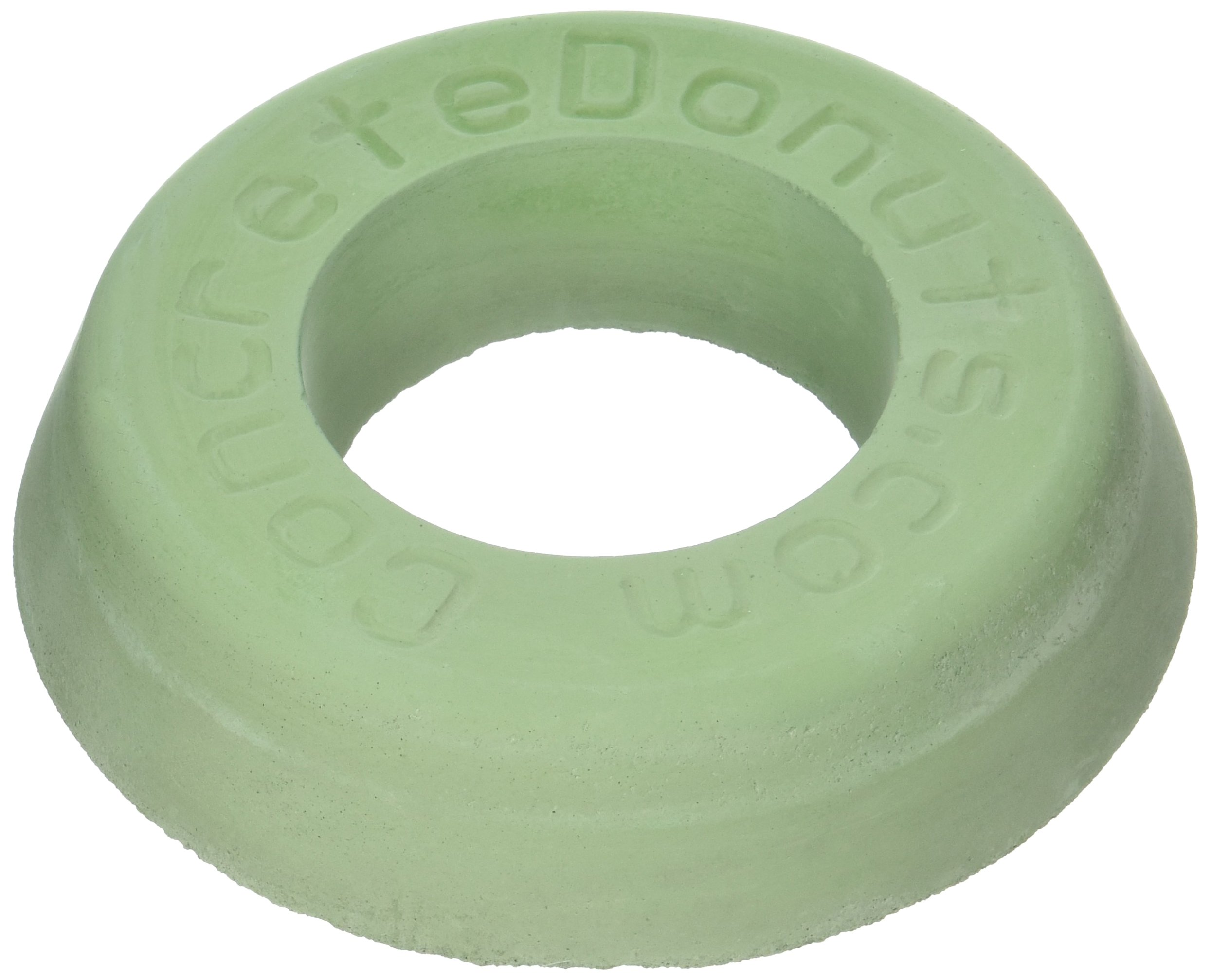 Concrete Donuts for a Rotary Head Full, Large Full, Green