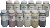 Sax True Flow Crystal Magic Glazes, Assorted Colors, Set of 12 Pints - 406470