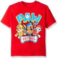 Paw Patrol Boys' Short Sleeve T-Shirt