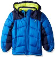 Vertical '9 Boys' Pop Colors Bubble Jacket