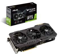 ASUS TUF Gaming NVIDIA GeForce RTX 3090 OC Edition Graphics Card- PCIe 4.0, 24GB GDDR6X, HDMI 2.1, DisplayPort 1.4a, Dual Ball Fan Bearings