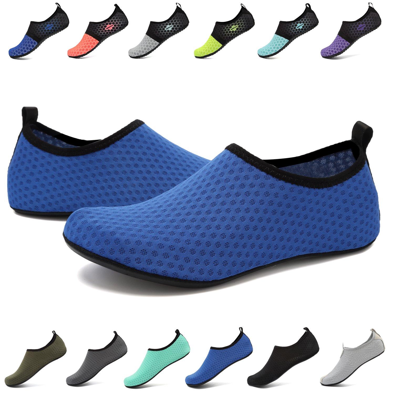 EASTSURE Snorkeling Shoes Water Sport Shoes Aqua Socks for Men Women Beach Swim Surf Yoga