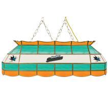 "Trademark Gameroom NHL San Jose Sharks 40"" Handmade Tiffany Style Lamp"