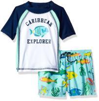 Carter's Boys' Infant Caribbean Explorer Rash Guard Set