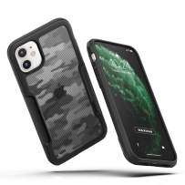MAXSHIELD Compatible with iPhone 11 Case, Premium Hybrid Shockproof Protective Slim Clear Case [Razor X Series]-Camouflage Grey