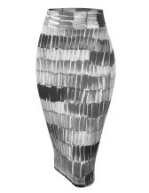 Made By Johnny Womens Slim Fit Midi Pencil Skirt - Made in USA