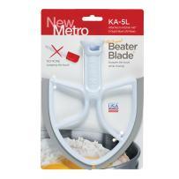 Original Beater Blade for 5-Quart KitchenAid Bowl Lift Mixer, KA-5L, White, Made in the USA
