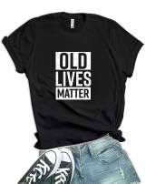 Decrum Funny Shirts for Women Graphic Sarcastic Tshirts