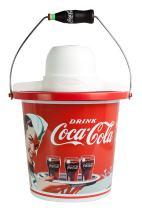 Nostalgia ICMP400COKE Coca-Cola Ice Cream Maker, 4-Quart, Coke Red