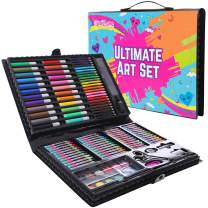 GirlZone: Art Set for Girls, 118 Pieces Arts and Crafts Kit for Kids, Great Gift for Girls