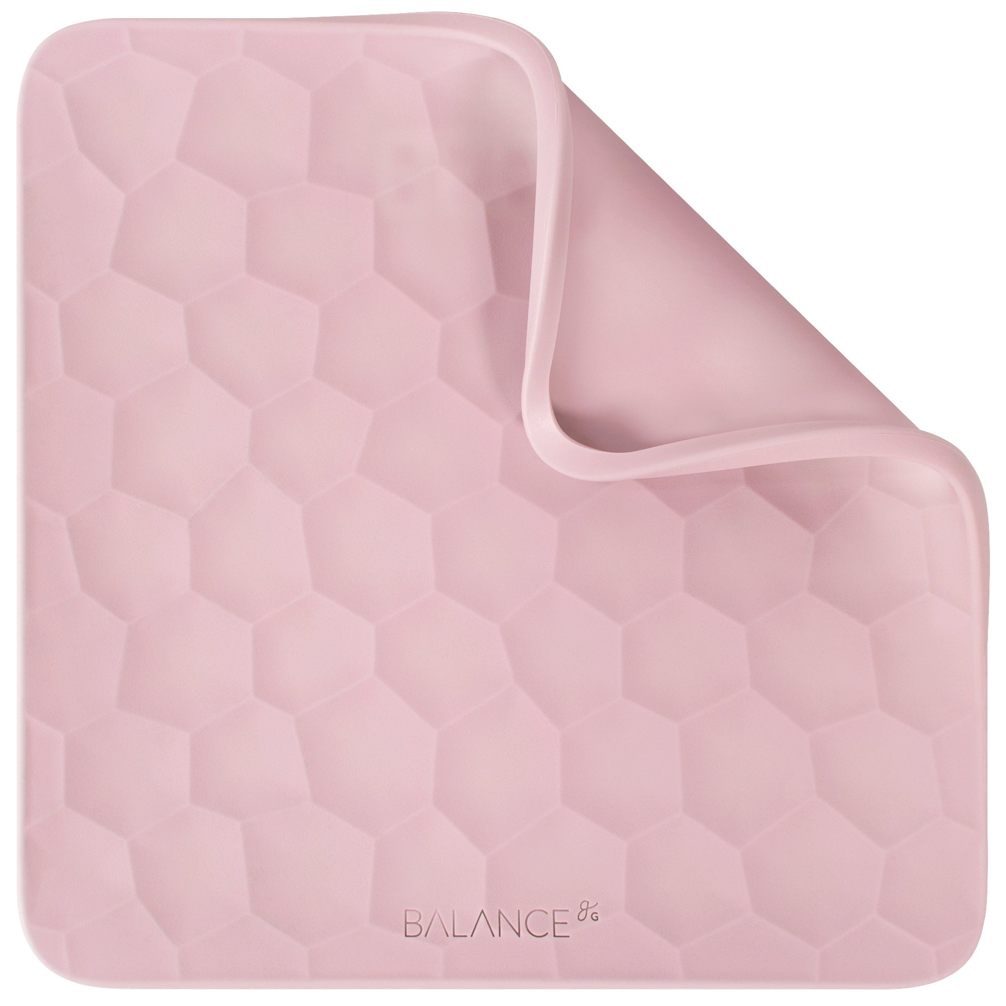 Removable Cover for Pink Bathroom Scale by GreaterGoods Silicone Scale, Rose Quartz Pink Color, Must Add Scale + TOP to Cart to Complete Purchase, Scale NOT Included (Top Only)