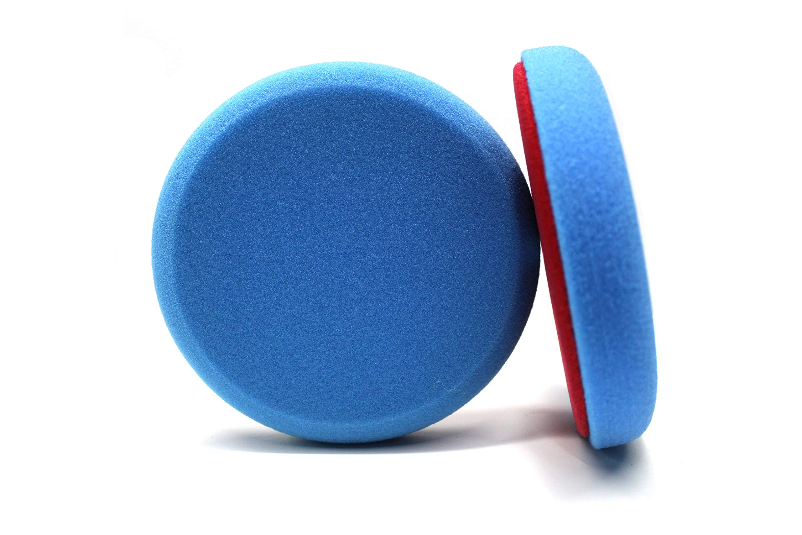Maxshine Blue Flat Foam Finishing Pad - 5 Inch/130mm