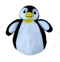 J.L. Childress BooBooZoo First Aid Cool Pack for Babies, Toddlers and Kids, Soothes Aches, Bumps & Bruises, Non-Toxic, Flexible When Frozen, Reusable, Penguin