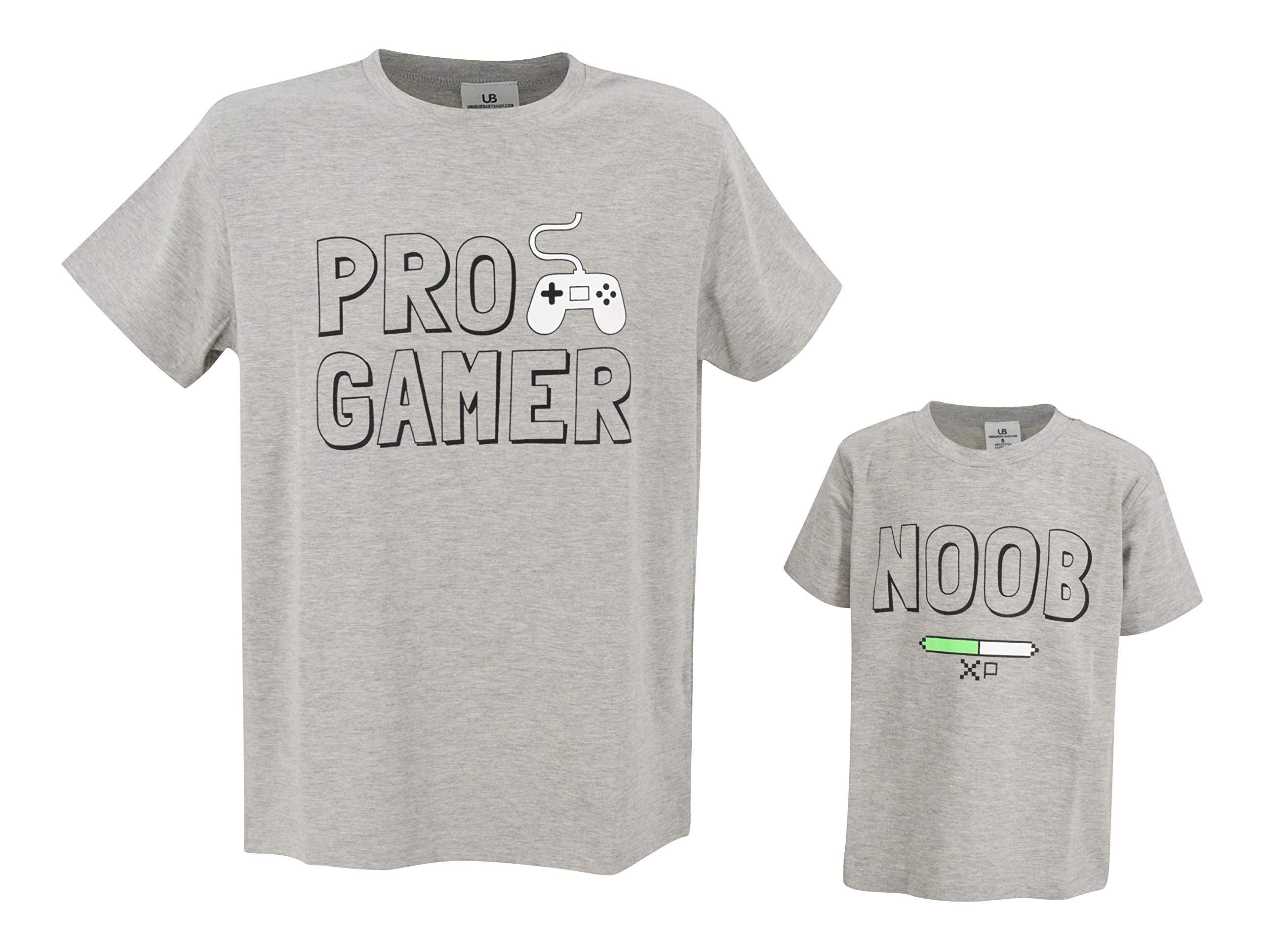 Unique Baby Gamer Noob Father Son Matching Shirts Daddy Me