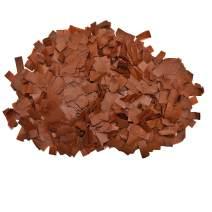 Flutter FETTI Tissue Paper Confetti Biodegradable (Eco- Friendly) Brown Premium 19,500 Pieces