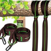 Swurfer Tree Swing Straps Hanging Kit- Durable Weatherproof Tree Attachment Straps - Hang Any Swing or Hammock (5 Feet - 2 Straps)