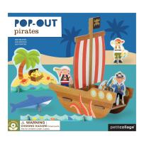Petit Collage Pop-Out, Pirate Ship