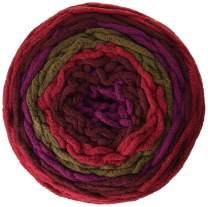 Bernat Blanket Stripes Yarn, 10.5 oz, Berry Basket, 1 Ball