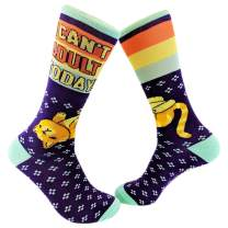 I Can't Adult Today Socks Funny Sarcastic Cat Footwear For Ladies