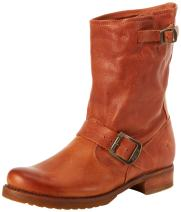 FRYE Women's Veronica Short Boot, Whiskey Soft Vintage Leather, 6.5 M US
