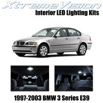 XtremeVision Interior LED for BMW 5 Series E39 1997-2003 (14 Pieces) Pure White Interior LED Kit + Installation Tool