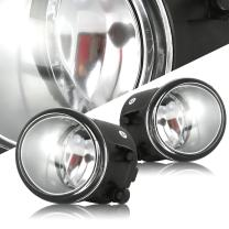 Scitoo Clear Lens OE/Replacement Fog Light fit for 2012-2015 Toyota Tacoma Pair Set
