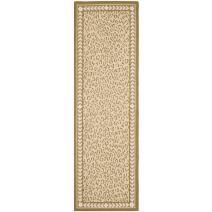 "Safavieh Chelsea Collection HK15B Hand-Hooked Ivory Premium Wool Runner (2'6"" x 8')"