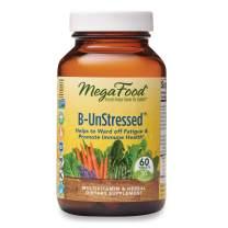 MegaFood, B-UnStressed, Helps Ward Off Fatigue, Multivitamin and Herbal Supplement, Vegan, 60 Tablets (30 Servings)