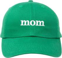 Mom Hat | Cute, Funny Fun Stitched Baseball Cap for Women Mothers Mommy Wife Mrs