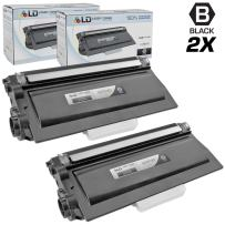 LD Compatible Toner Cartridge Replacement for Brother TN720 (Black, 2-Pack)
