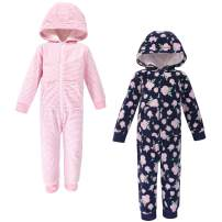 Hudson Baby Baby Girls' Fleece Jumpsuits, Coveralls, and Playsuits