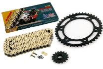 2007-2015 Fits Honda CBR600RR CZ SDZ Gold X Ring Chain and Sprocket Kit 16/42 122L