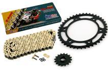 2007-2015 Fits Honda CBR600RR CZ SDZ Gold X Ring Chain and Sprocket Kit 16/42 122L