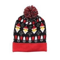 BambooMN Cozy Winter Christmas Theme Hat