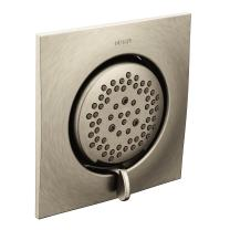 Moen TS1420BN Mosaic Square Two-Function Body Spray, Valve Required, Brushed Nickel