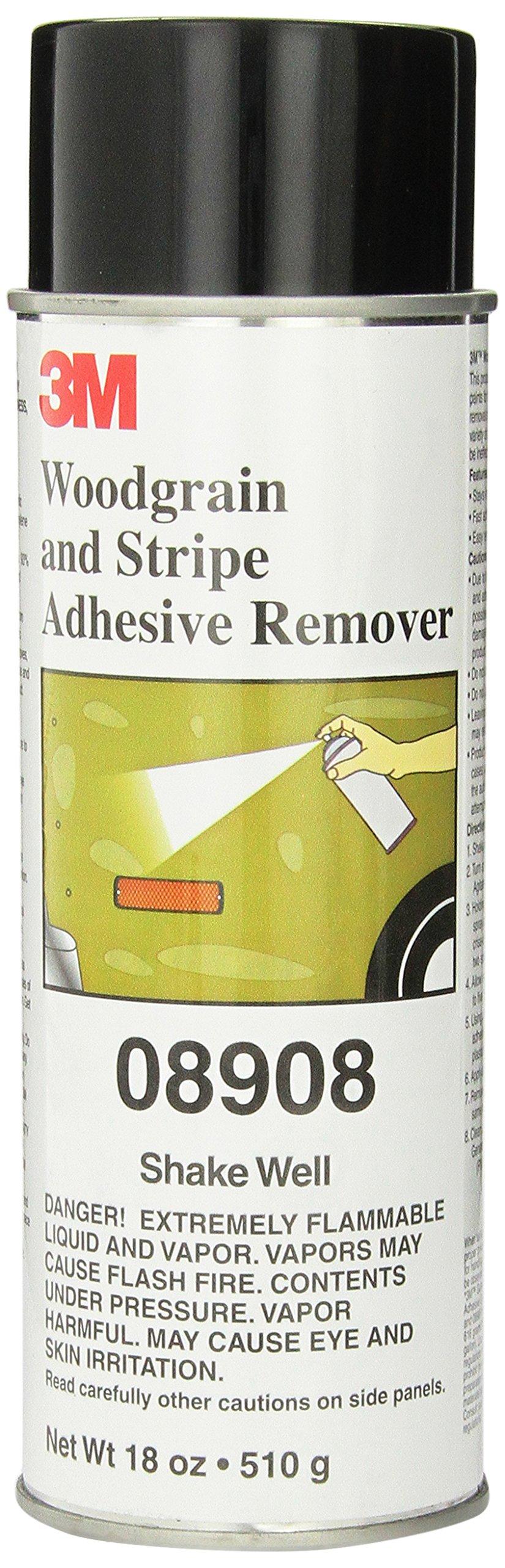 3M 08908 Woodgrain and Stripe Adhesive Remover - 18 fl. oz.