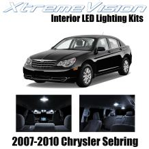 Xtremevision Interior LED for Chrysler Sebring 2007-2010 (10 Pieces) Pure White Interior LED Kit + Installation Tool