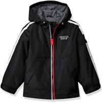 LONDON FOG Boys' Jacket with Striped Sleeves